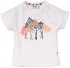 Dirkje T-Shirt Korte Mouw Zebra White