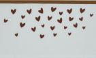 Meyco Wieglaken Hearts Camel 75 x 100 cm
