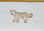 Meyco Ledikantlaken Cheetah Honey Gold 100 x 150 cm