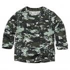Quapi T-Shirt Zack Dusty Green Spots