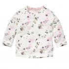 Quapi T-Shirt Zenna Offwhite Flower