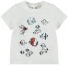 Name It T-Shirt Korte Mouw Folon Snow White