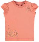 Name It T-Shirt Korte Mouw Francisca Apricot Brandy