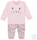 Dirkje Pyjama Cat Light Pink