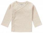 Noppies T-Shirt Overslag Rib Nanyuki Oatmeal