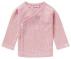 Noppies T-Shirt Overslag Rib Nanyuki Light Rose Melange