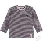 Dirkje T-Shirt Stripe Navy/Light Pink