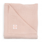Jollein Wiegdeken Basic Knit Pale Pink  75 x 100 cm