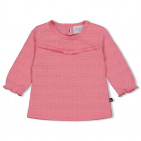 Feetje T-Shirt Ruffle Roze