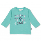 Feetje T-Shirt Happy Mint Melange