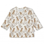 Feetje T-Shirt Panther Cutie Offwhite
