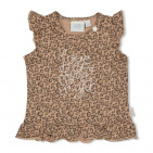 Feetje T-Shirt Zonder Mouw Panther Zand