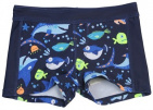 Lentiggini Zwemshort Fish Navy