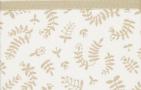 Briljant Wieglaken Botanical Organic Zand  75 x 100 cm