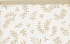 Briljant Ledikantlaken Botanical Organic Zand  100 x 150 cm