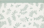 Briljant Ledikantlaken Botanical Organic Stonegreen  100 x 150 cm