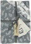 Briljant Multidoek Botanic Organic Blauw Grijs  70 x 70 cm 4-Pack