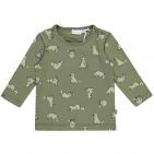 Babylook T-Shirt Raccoon Dusty Olive
