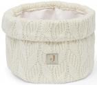 Jollein Verzorgingsmandje Spring Knit Ivory