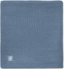 Jollein Wiegdeken Basic Knit Jeans Blue 75 x 100 cm