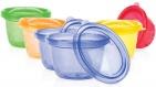 Nûby Snack Cups 118ml (6 stuks)
