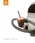 Stokke® Stroller Cup Holder Dark Grey