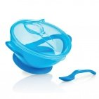 Nûby Easy Go Suction Bowl Blauw