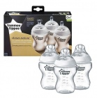Tommee Tippee Closer To Nature Flessen 260ml (3 stuks)