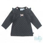 Feetje T-Shirt Dots Antraciet