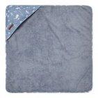 Little Dutch Badcape Ocean Blue 75 x 75 cm