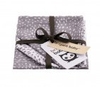 Briljant Monddoek Minimal Dots Grey 3-Pack