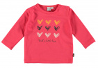 Babylook T-Shirt Hearts Teaberry