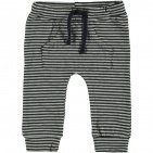 Babylook Broek Stripe Grey Melee / Navy