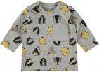 Name It T-Shirt Natal Grey Melange