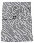 Meyco Wiegdeken Zebra Grijs 75 x 100 cm