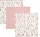 Little Dutch Monddoek Spring Flower/Pure Pink/Spring Flower 3-Pack