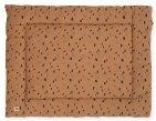 Jollein Boxkleed Spots Caramel  80 x 100 cm