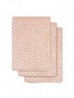 Jollein Washand Snake Pale Pink 3-Pack