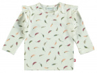 Babylook T-Shirt Feather Snow White