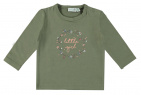 Babylook T-Shirt Little Girl Deep Lichen Green