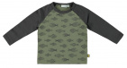 Babylook T-Shirt Fishes Deep Lichen Green