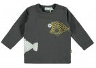 Babylook T-Shirt Big Fish Asphalt