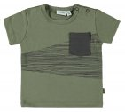 Babylook T-Shirt Korte Mouw Pocked Deep Lichen Green