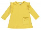 Babylook Jurk Ruffle Misted Yellow