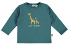 Babylook T-Shirt Like Daddy Mallard Blue