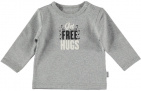 BESS T-Shirt Free Hugs Grey