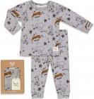 Feetje Pyjama Roar Riley Grijs Melange