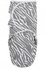 SwaddleMeyco Zebra Grijs  4-6 Maanden
