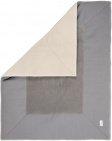 Koeka Boxkleed Riga Steel grey  80 x 100 cm