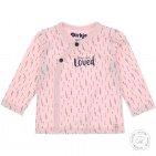 Dirkje T-Shirt Overslag Light Pink